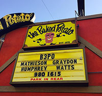 The Baked Potato Sign by Jerry Watts